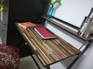 Foldable Study Table - Brown Bramble photo review