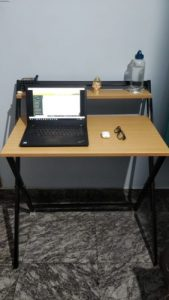 Foldable Study Table - Royal Beige photo review